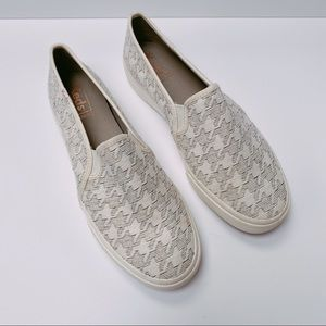 Keds Double Decker Houndstooth Slip-On Sneakers